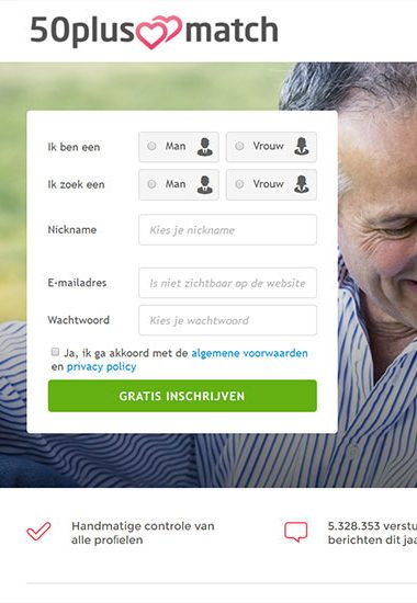 gratis dating website voor meer dan 50