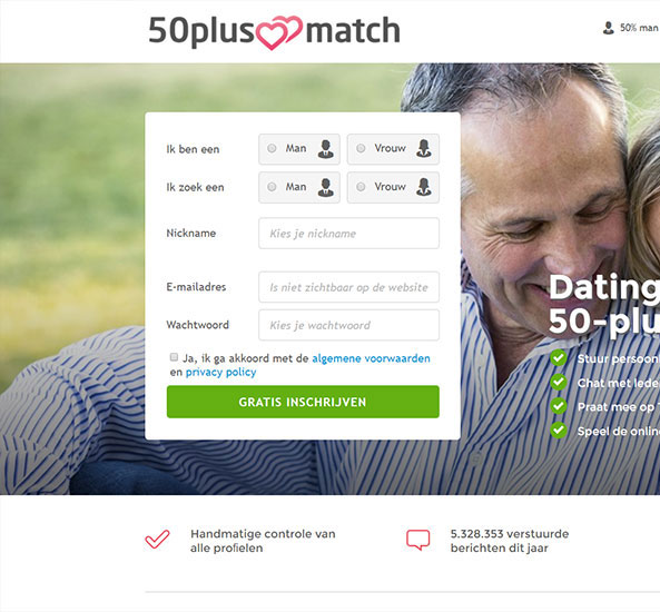 50 jaar plus dating siteDating Casino